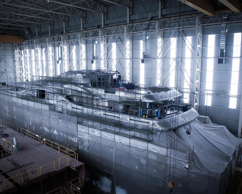 Montageteile für den Schiffsbau aus Werl
