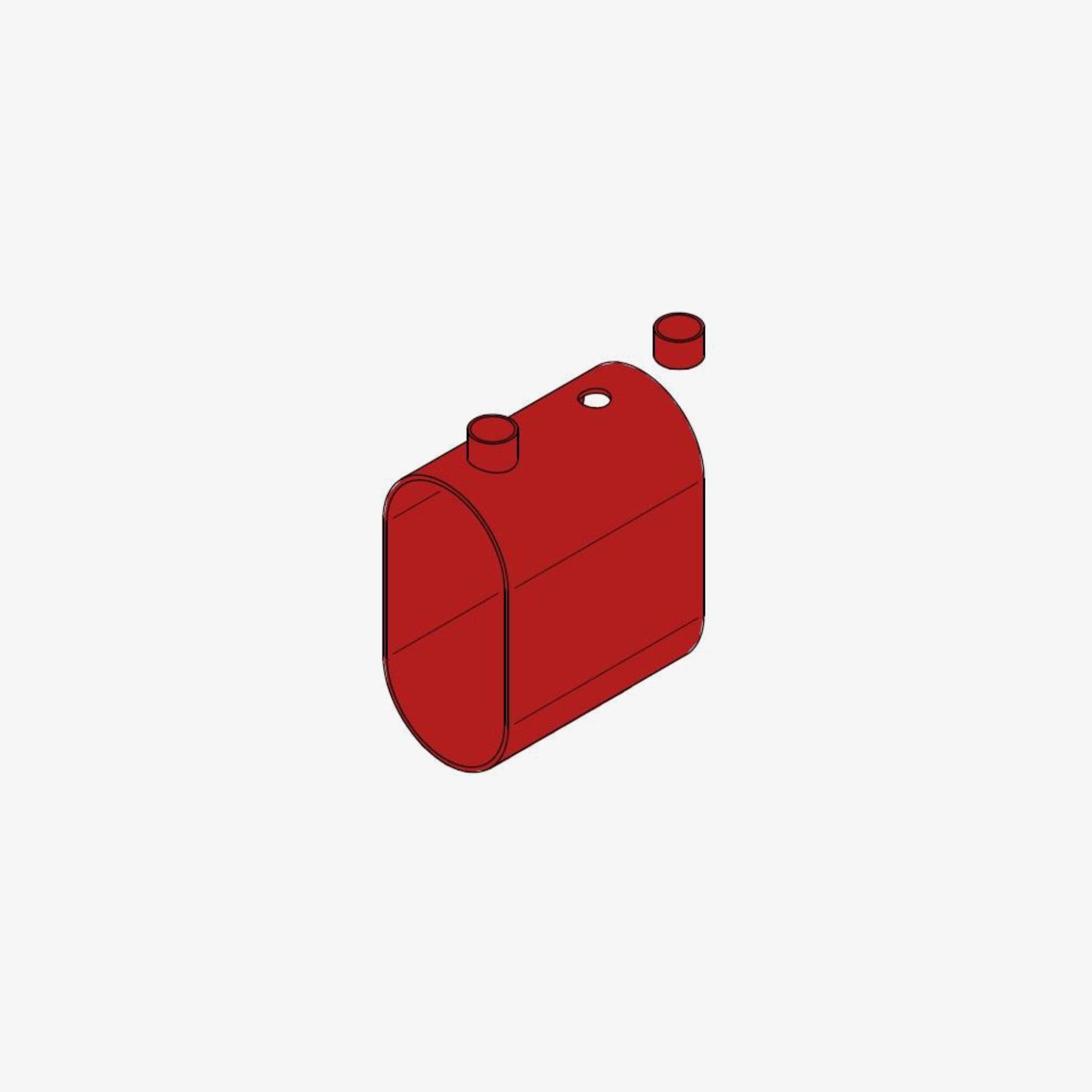 Rahmen Form C, oval, VG88700-3 mit Vergießöffnungen hochkant